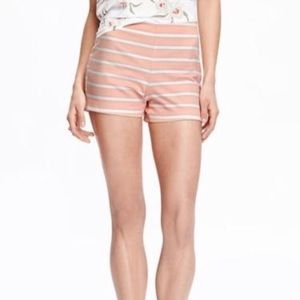 NWT Old Navy High Rise Striped Dress Shorts Size 0